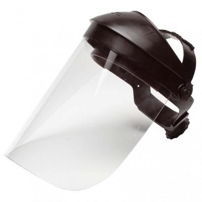 barete takılabilen yüz koruyucu siperlik