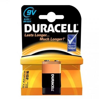 duracell 9 volt  alkalin pil tekli