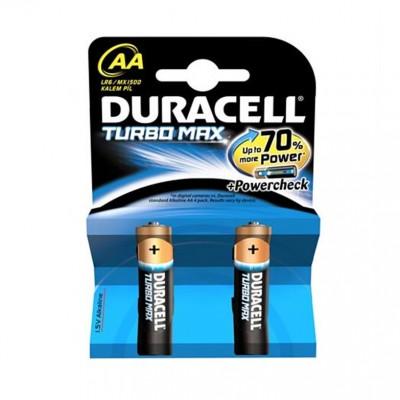 duracell turbo max AA 2li paket