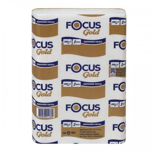 focus gold dispenser havlu