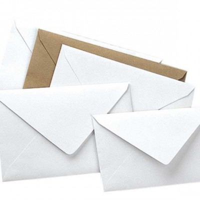 zarf davetiye 130mmx180mm 25li paket