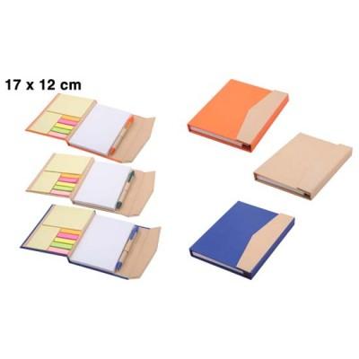 10-geri dönüşümlü kalemli notluk&defter