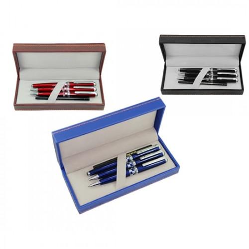 12-tükenmez&roller&versatil kalem set
