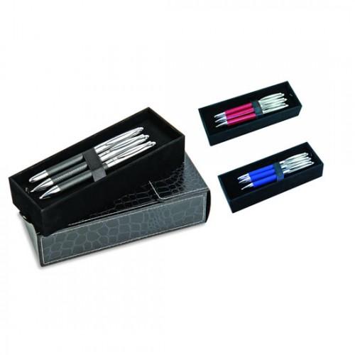 2-tükenmez&roller&versatil kalem set