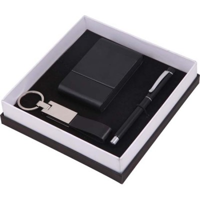25-anahtarlık&kartvizitlik6roller kalem set